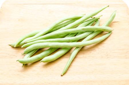 snap bean: string bean on splat