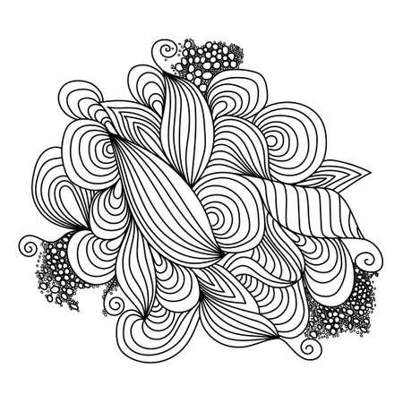 vectoe: Waves. Vectoe Illustration.
