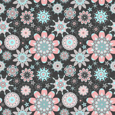 flores abstractas: Flores abstractas.