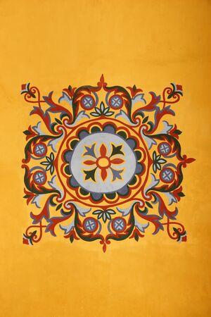 Byzantine pattern from Hagia Sophia