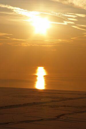 Lake Van sunset, Turkey Stock Photo - 4544047
