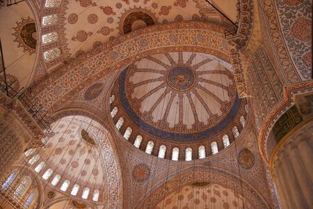 domes: Arches and domes with islamic patterns