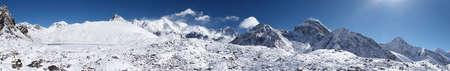 Himalaya mountain panorama, Nepal Stock Photo - 5364389