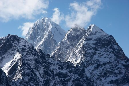 Impregnable summits, Himalaya, Nepal Stock Photo - 5364410