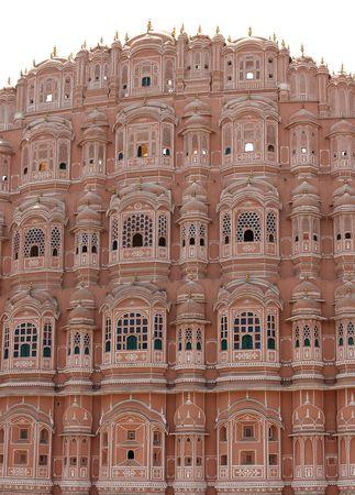 maharaja: Hawa Mahal palace in Jaipur, India