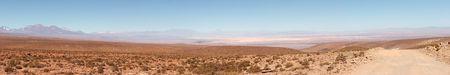 Salar de Atacama panorama, Chile Stock Photo