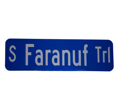 phonetic far enough street sign Imagens