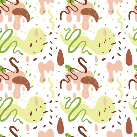 Abstract pattern on white background Standard-Bild - 133356387