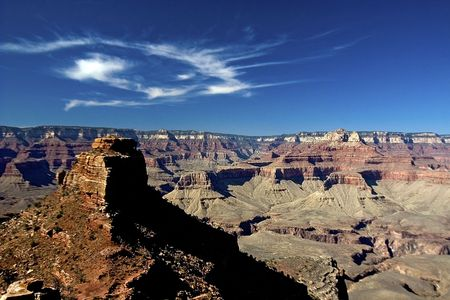View from the South Kaibab trail - South Rim - Grand Canyon National Park Stock Photo - 1201107