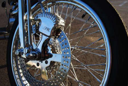 Chrome Spoke Wheel
