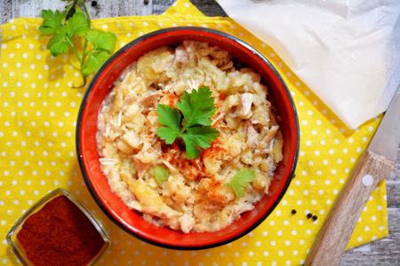 Chicken Pudding Stok Fotoğraf - 77477160