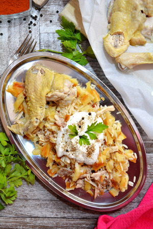 Chicken Pide