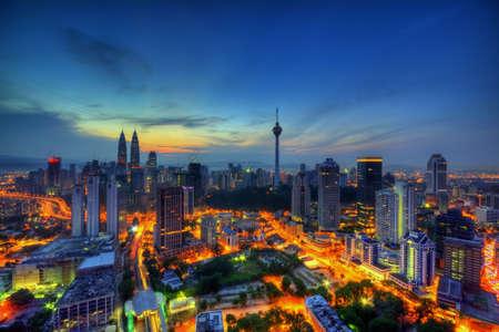 Kuala Lumpur Archivio Fotografico