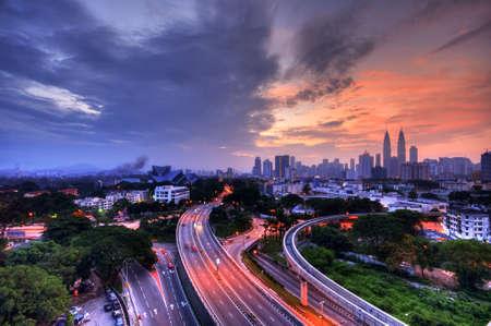 Misty Kuala Lumpur