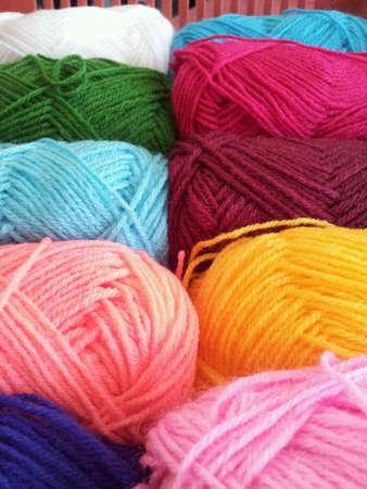 clothing: Bundle of threads Stock Photo