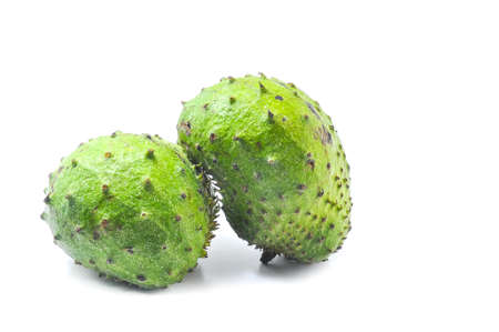 Soursop Prickly Custard Apple. Annona muricata L. Treatment of cancer. photo