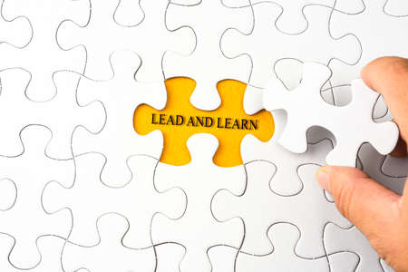 complete solution: Puzzle with word LEAD AND LEARN