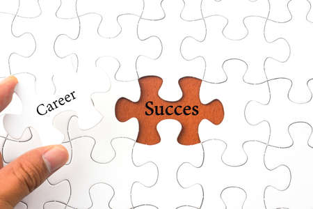 succes: Puzzle with word Career - Succes