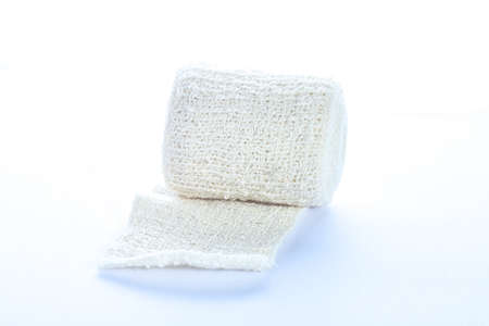 immobilize: Medical bandage roll isolated