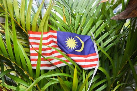 Malaysian Flag (Jalur Gemilang) Stock Photo