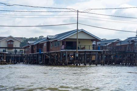 The river village of Kampong Ayer in Bandar Seri Begawan, Brunei. Reklamní fotografie