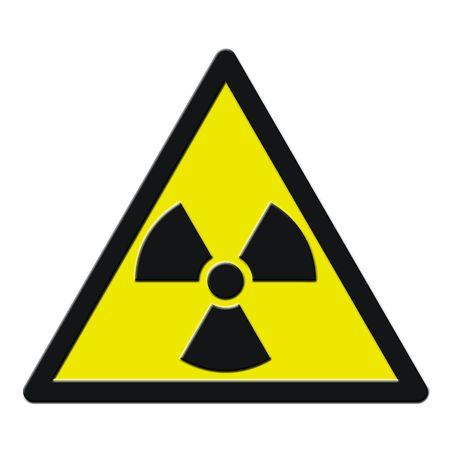 dropshadow: A radioactive sign