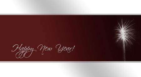 a card as template for new year s eve invitations with fireworks