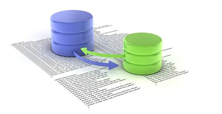dispensation: A set of databases as concept for redundancy and data distribution
