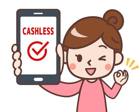 Smartphone Settlement Woman