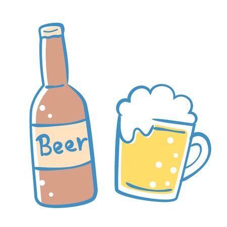 Beer  イラスト・ベクター素材
