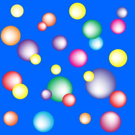 bolls: colored bolls pattern
