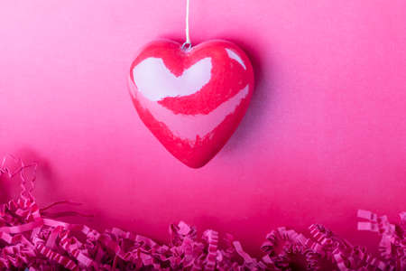 eg: Beautiful special macro heart with details symbol of love. Red pink heart shape for eg a present at Valentines Day or Mothers Day.