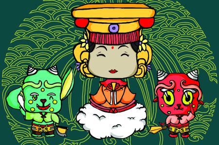 clairvoyance: Matsu the Godness of Taiwan