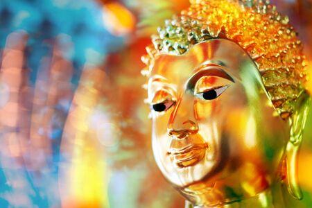 Buddha face at Ayutthaya, Thailand. Фото со стока