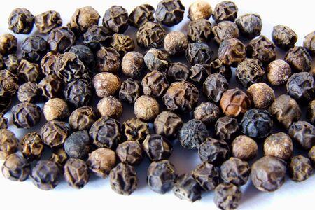 peppercorns: black peppercorns Stock Photo