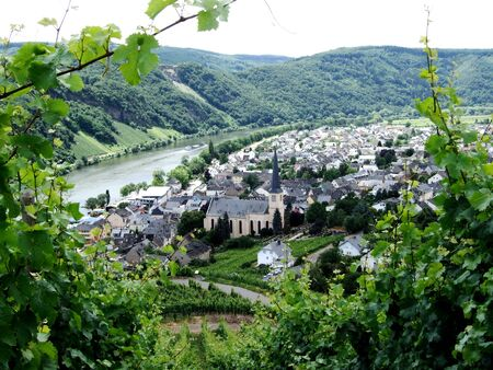 Kröv on the Moselle Stock Photo - 15709001