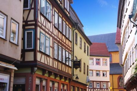 wertheim: city ??Wertheim on Main in Baden-Wuerttemberg Editorial
