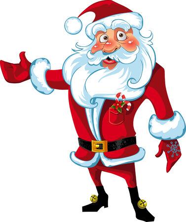 Santa Claus presentation Stock Vector - 6023283