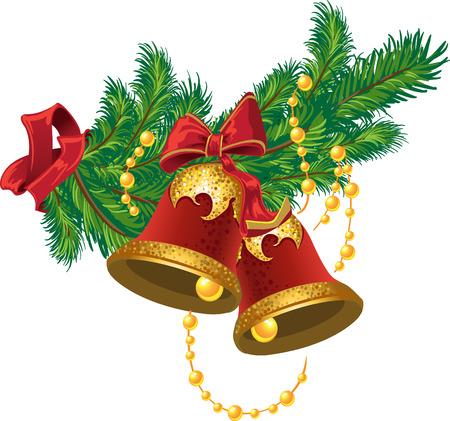 christmas bells: Christmas bells Illustration