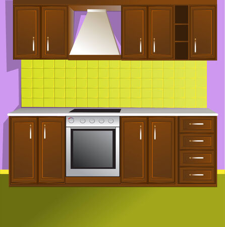 stainless steel kitchen: Kitchen