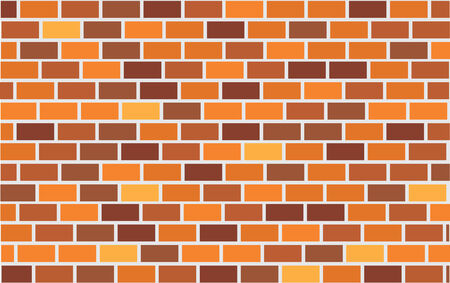 wall of brick. illustration Stock Vector - 6165928
