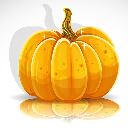 Beautiful Halloween pumpkin 1 Stock Vector - 15113342