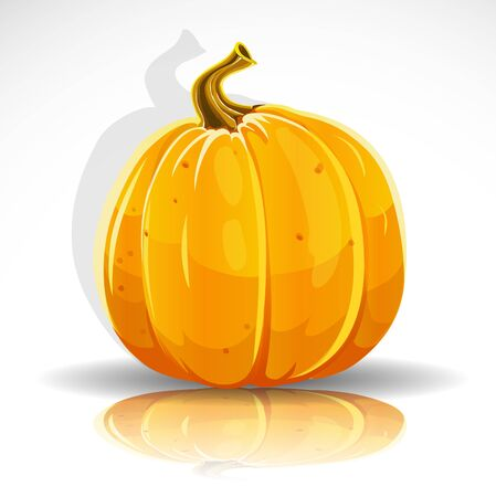 Beautiful Halloween pumpkin  Stock Vector - 15113335