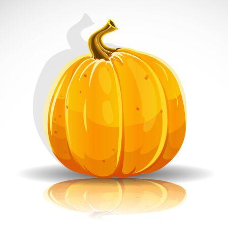 Beautiful Halloween pumpkin Stock Vector - 15113335