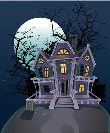 Haunted Halloween heks huis