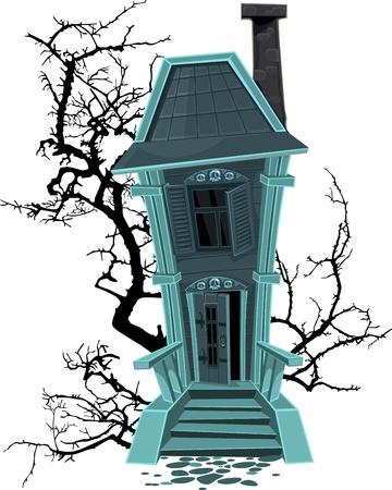 жуткий: Хэллоуин ведьмы дома