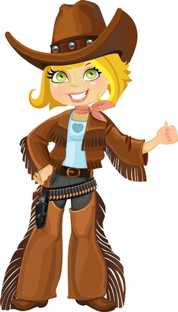 colt: Cowgirl z colt