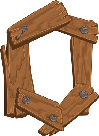 cocao: wooden alphabet - letter O