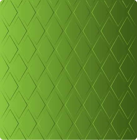 concealed: stylish grass green background in diamond-shaped ornamental pattern