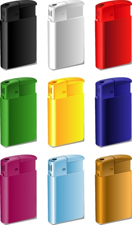 lighter: Color souvenir lighter for your print